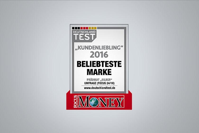 "NKD ist ""Kundenliebling 2016 – Beliebteste Marke"""