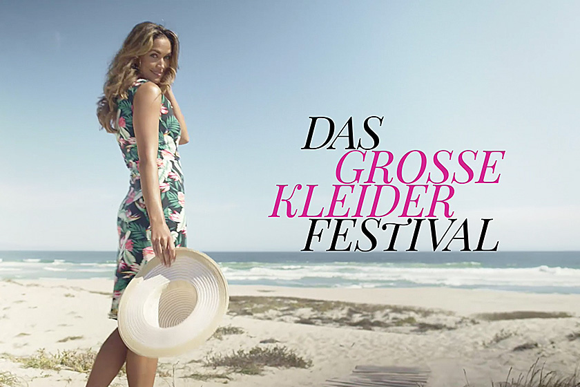 Das Bindlacher Textilunternehmen NKD startet mit einer großangelegten Kampagne in die Sommersaison. Im Fokus stehen modische Kleider, die mit fünf trendigen Dessins und einem Sensations-Preis überzeugen. Zur Kampagne strahlt NKD erstmalig TV-Spots aus.