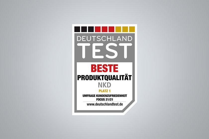NKD BEWEIST BESTE PRODUKTQUALITÄT
